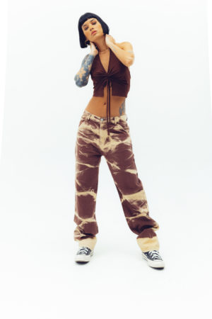 Brown Paradise Jeans
